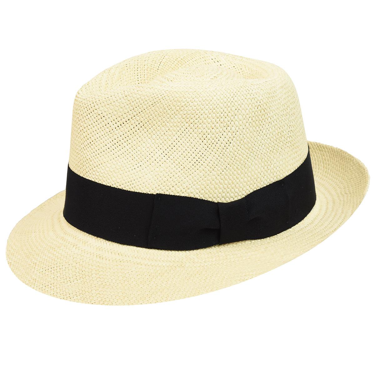 1940s Mens Hats | Fedora, Homburg, Pork Pie Hats Havana Panama Fedora $75.00 AT vintagedancer.com