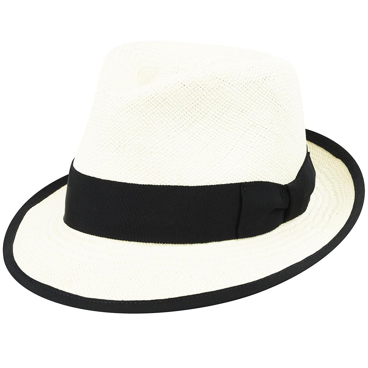 1920s Mens Hats & Caps | Gatsby, Peaky Blinders, Gangster Riviera Panama $78.00 AT vintagedancer.com