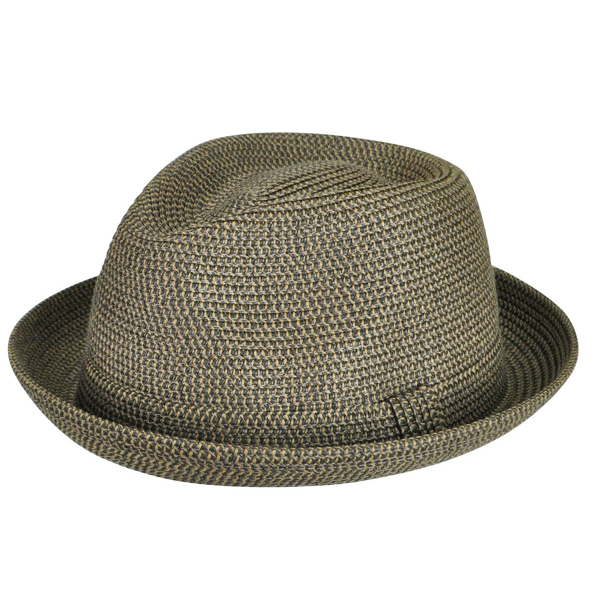 1950s Mens Hats | 50s Vintage Men's Hats Joey Braided Fedora $43.00 AT vintagedancer.com