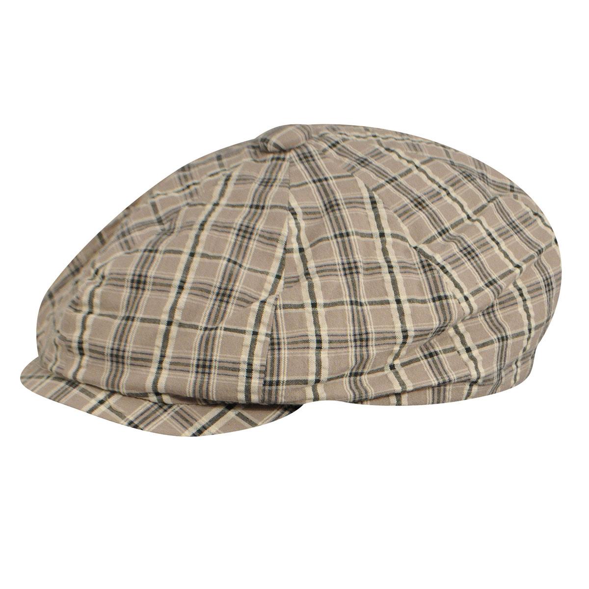 New Edwardian Style Men's Hats 1900-1920 Wesley Newsboy Cap $30.00 AT vintagedancer.com