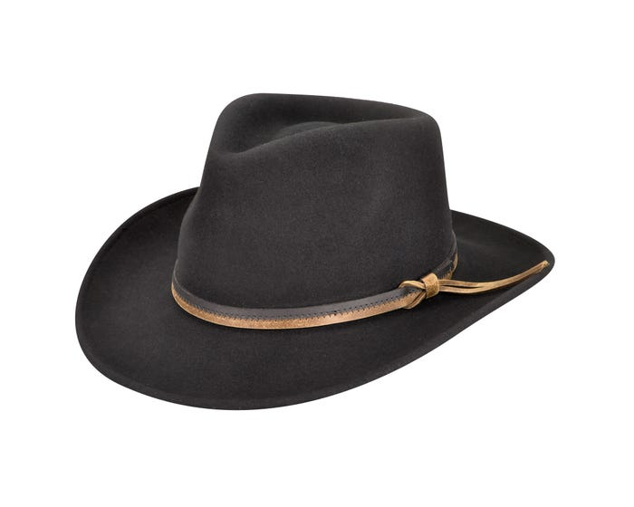 e381615df8ce6 Country Gentleman Felt Outback Hat