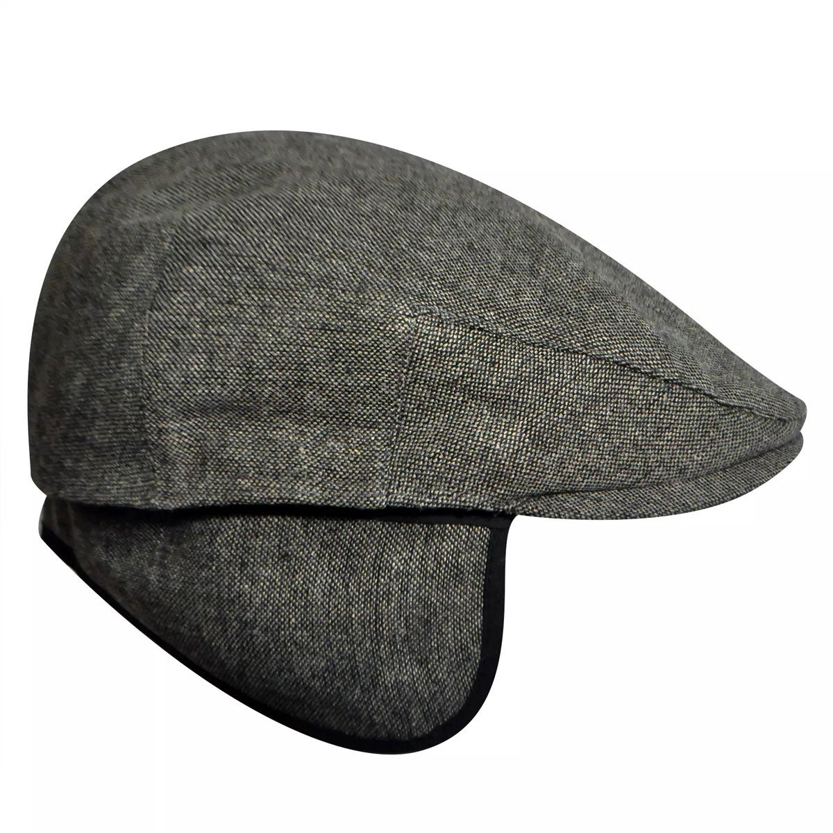 Men's Vintage Workwear – 1920s, 1930s, 1940s, 1950s Ainsley Earflap Flat Cap $40.00 AT vintagedancer.com