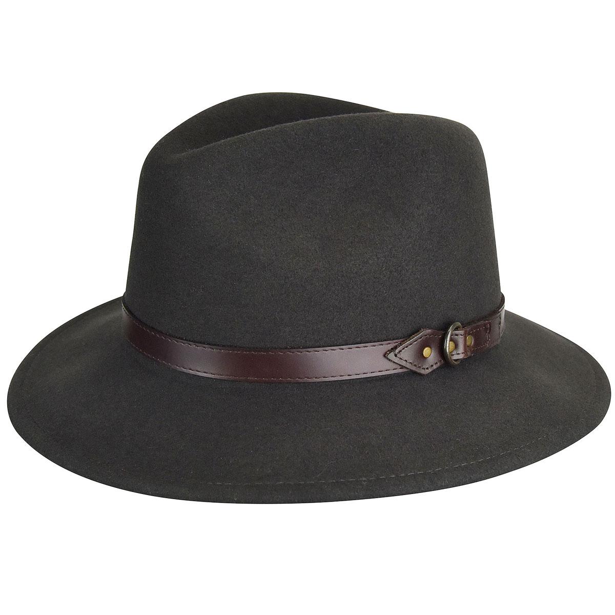 Country Gentleman Dunmore GentleFelt Fedora in Slate