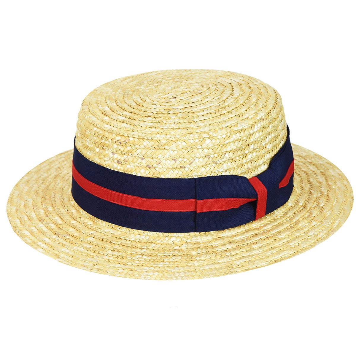 Country Gentleman Straw Boater in Natural