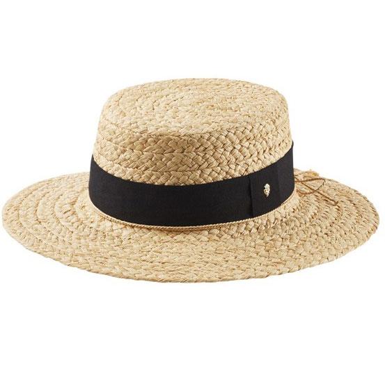 1920s Style Hats Cataline Boater $195.00 AT vintagedancer.com