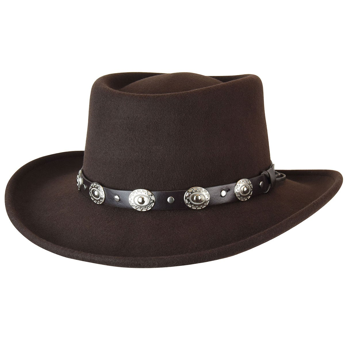 Steampunk Hats | Top Hats | Bowler Eddy Bros. Gambler $59.00 AT vintagedancer.com