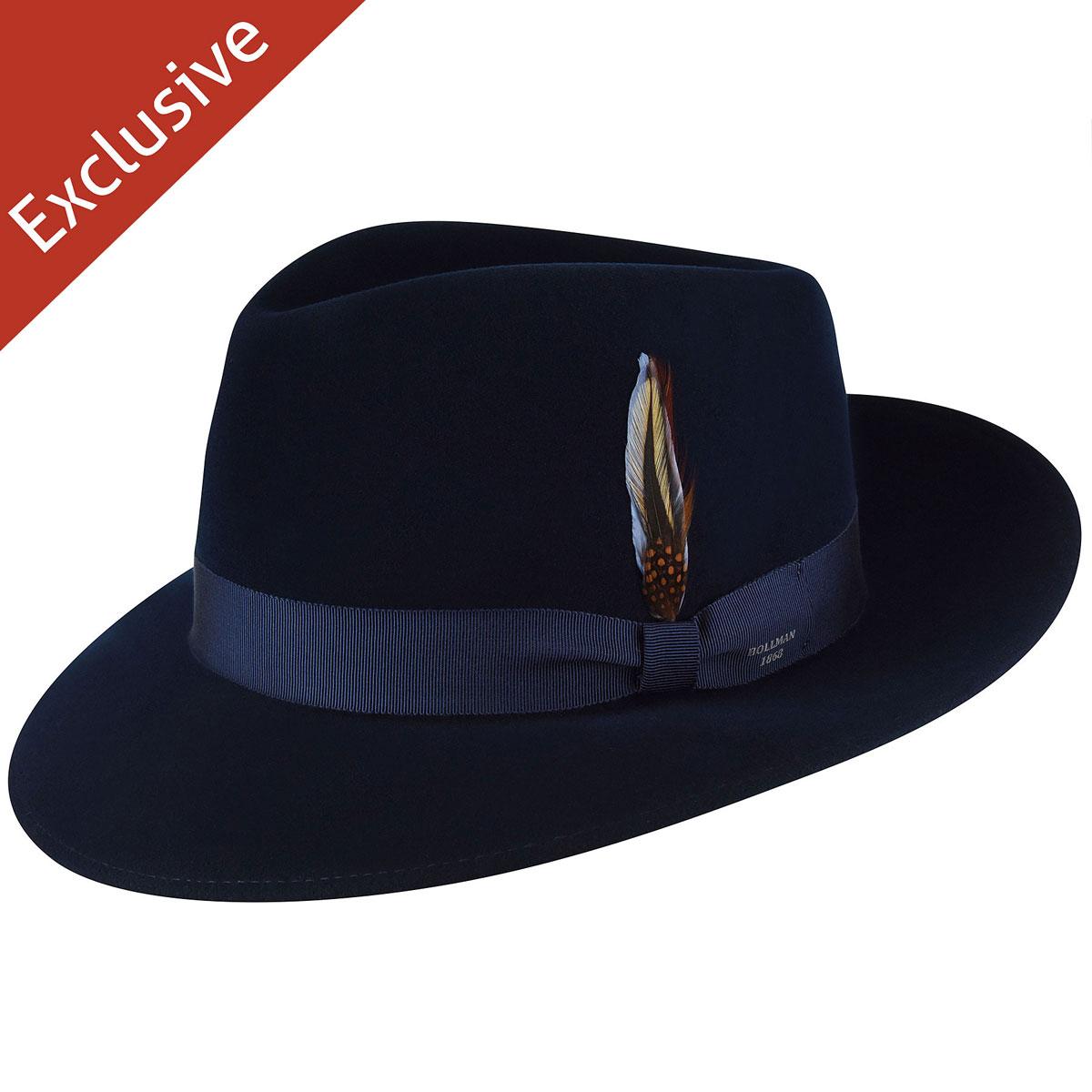 Gene H. Fedora - Exclusive - Dark Royal/XL