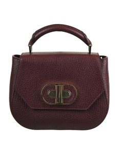 Fabia Leather Satchel