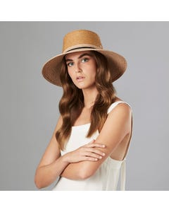 Willa Wide Brim Boater