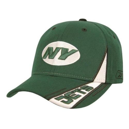 Reebok Jets Racing Stripe Cap in Green