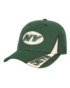 Jets Racing Stripe Cap