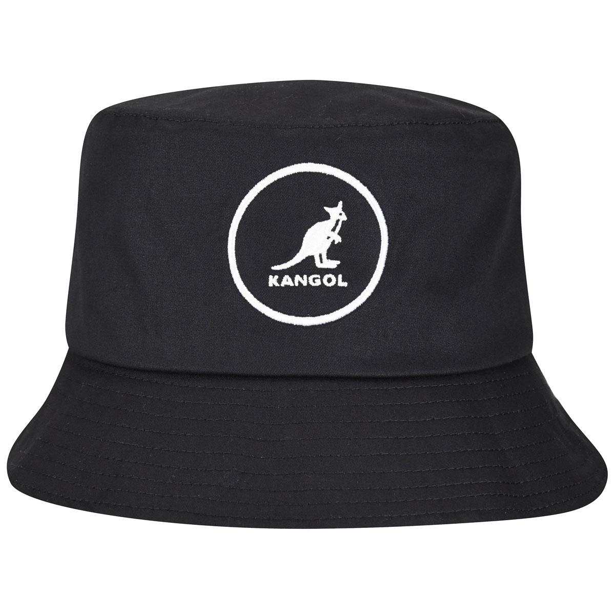 Kangol Cotton Bucket in Black