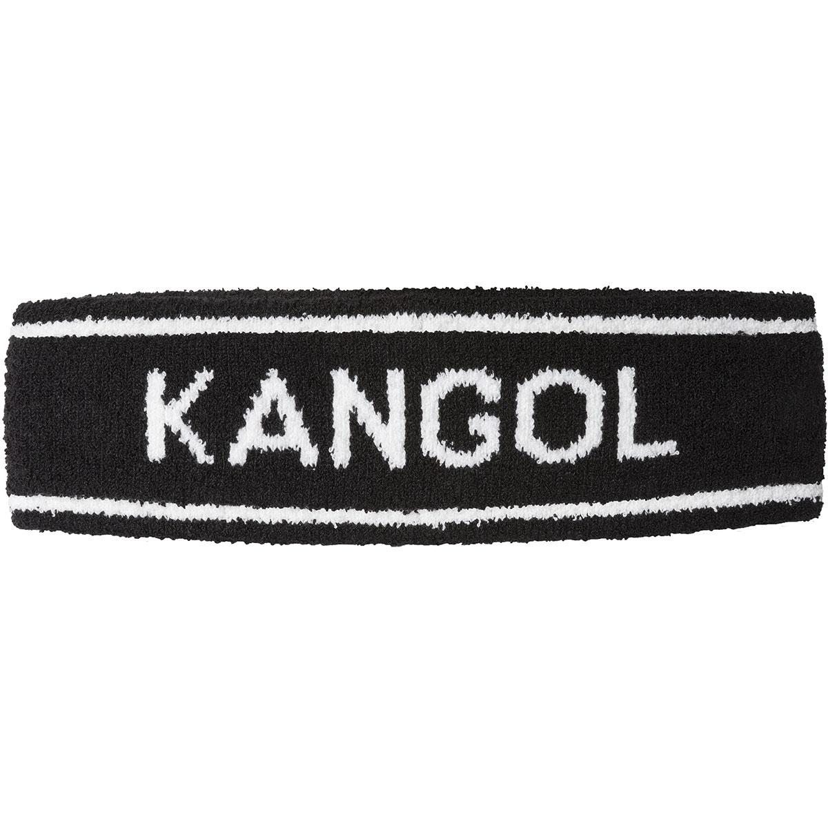 Kangol Bermuda Stripe Headband in Black