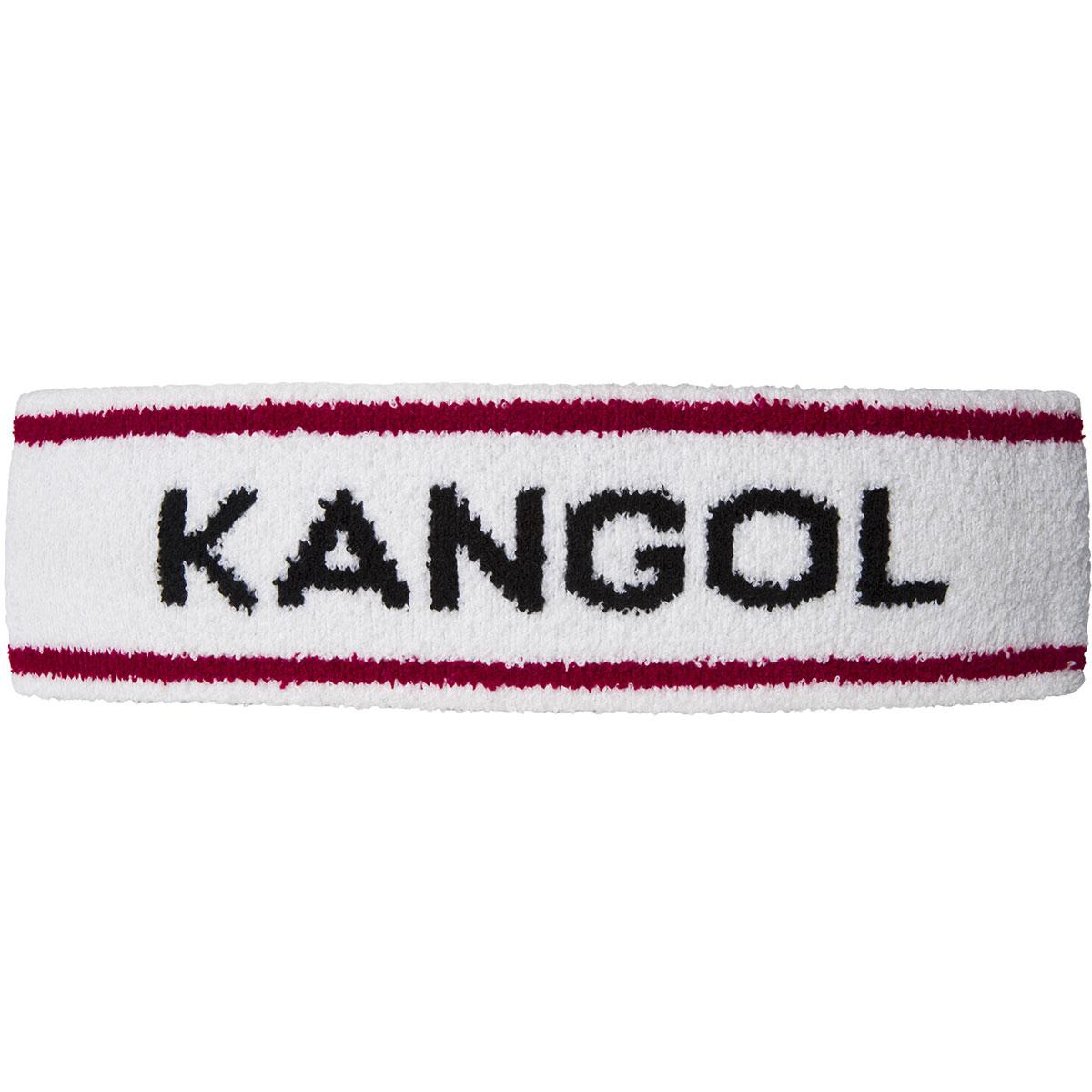 Kangol Bermuda Stripe Headband in White