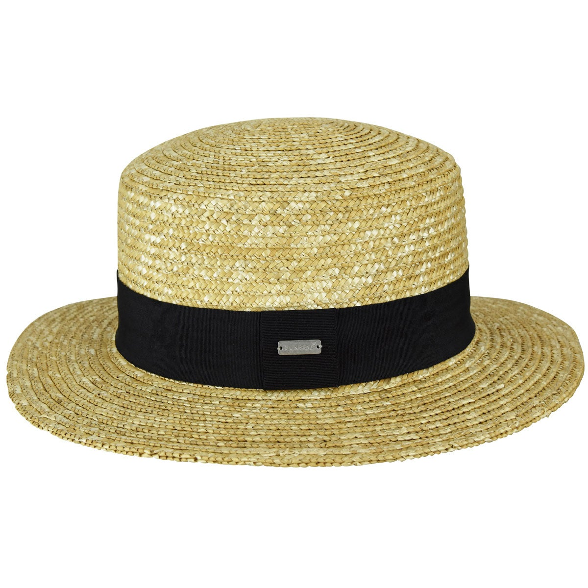 Steampunk Hats | Top Hats | Bowler Wheat Braid Boater $60.00 AT vintagedancer.com