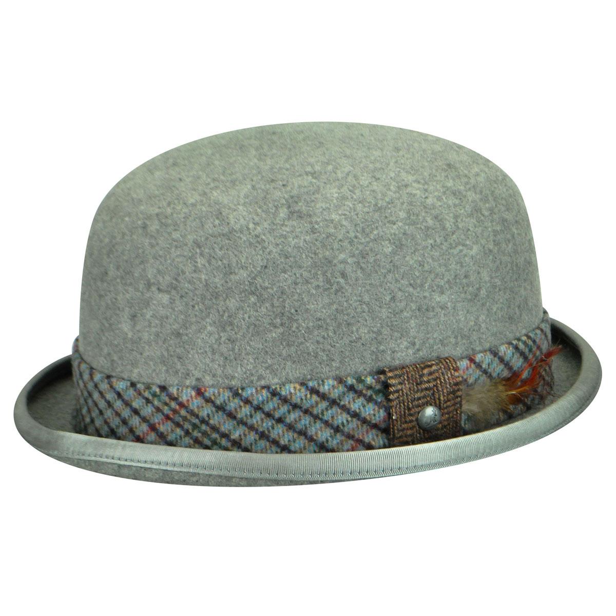 Men's Vintage Style Hats, Retro Hats Estate Bowler $36.00 AT vintagedancer.com