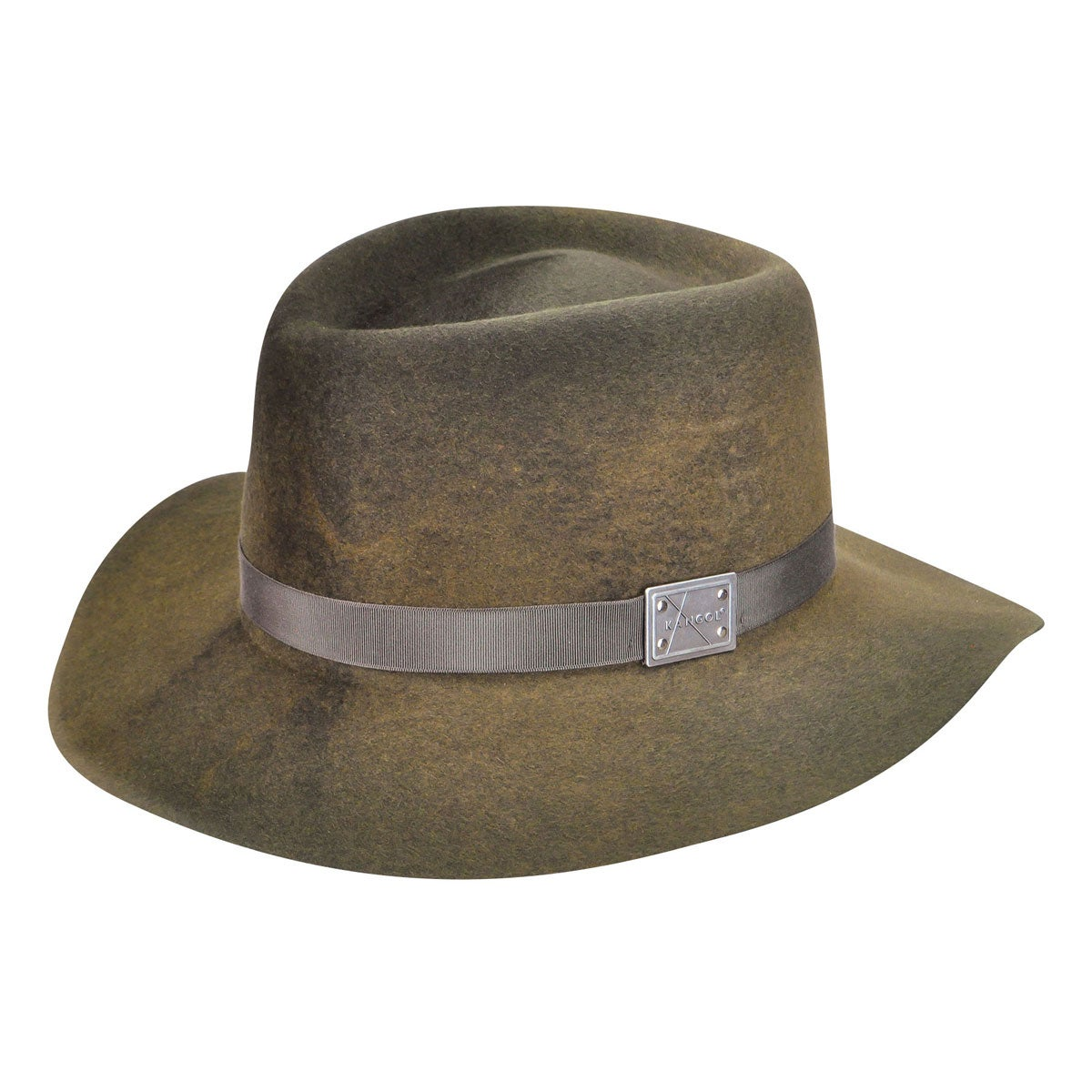 Kangol Aged Barclay Trilby in Camo