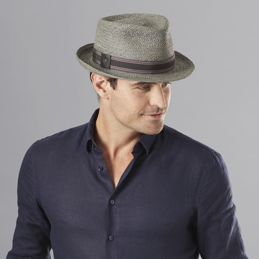 1960s – 70s Style Men's Hats Knox Fedora $150.00 AT vintagedancer.com