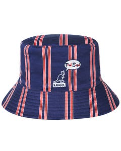 Fred Segal Tri-color Stripe Reversible Bucket