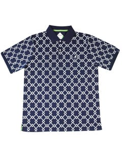 Samuel L. Jackson Golf Argyle Tex Polo Shirt