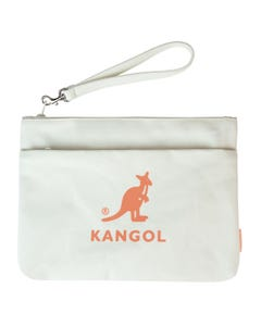 Kangol Pop-Color Canvas Pouch