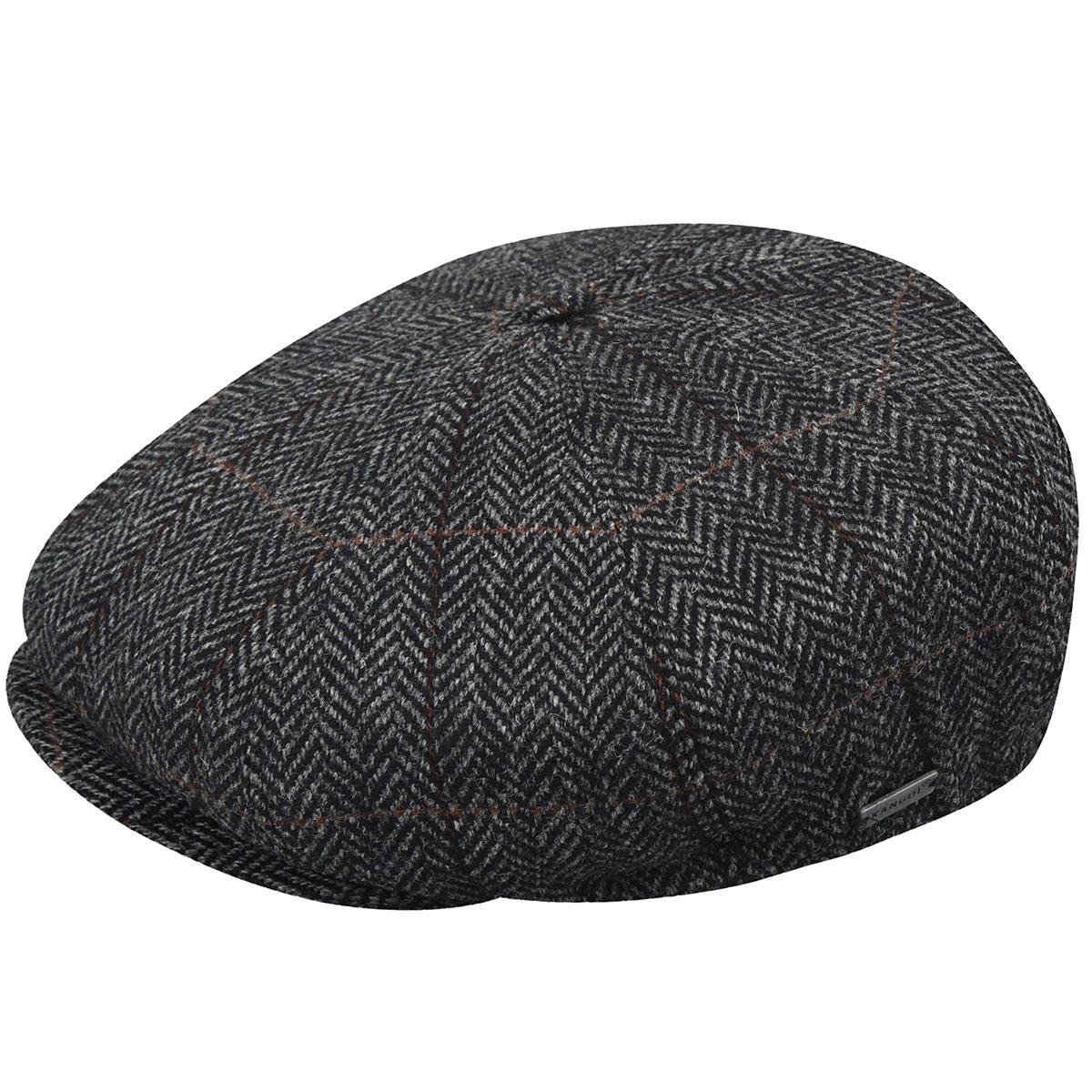 1920s Men's Hats – 8 Popular Styles Tweed Ripley Cap $82.50 AT vintagedancer.com
