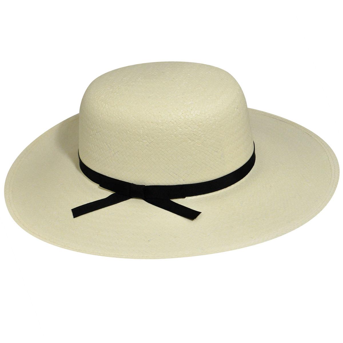 Edwardian Style Hats, Titanic Hats, Derby Hats LiteStraw reg Stephanie Wide Brim Hat $62.00 AT vintagedancer.com