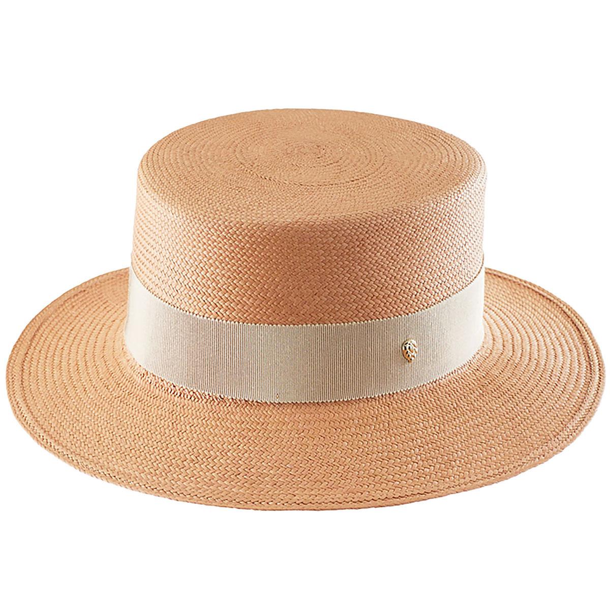 Edwardian Hats, Titanic Hats, Tea Party Hats Luisa Boater $320.00 AT vintagedancer.com