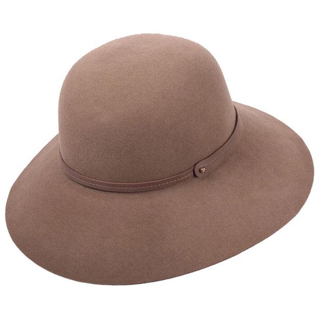 fbbf45be7e7 Marcie Round Crown Wide Brim Hat