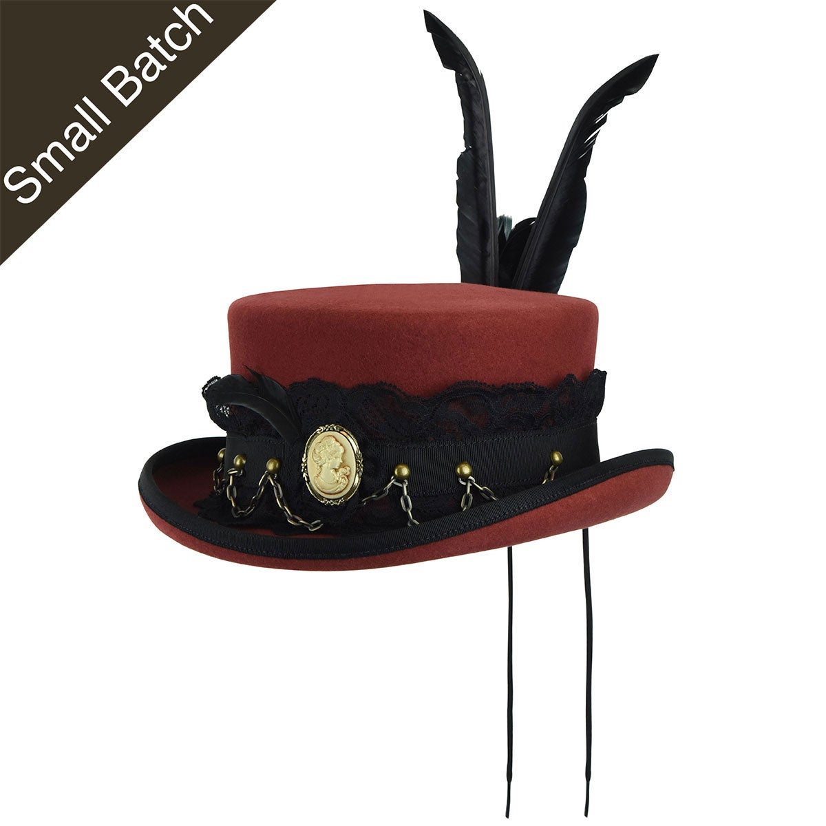 Steampunk Hats | Top Hats | Bowler Mohn Topper $300.00 AT vintagedancer.com