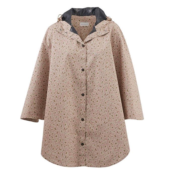 Helen Kaminski Mya Jacket in Shell Pink Leopard