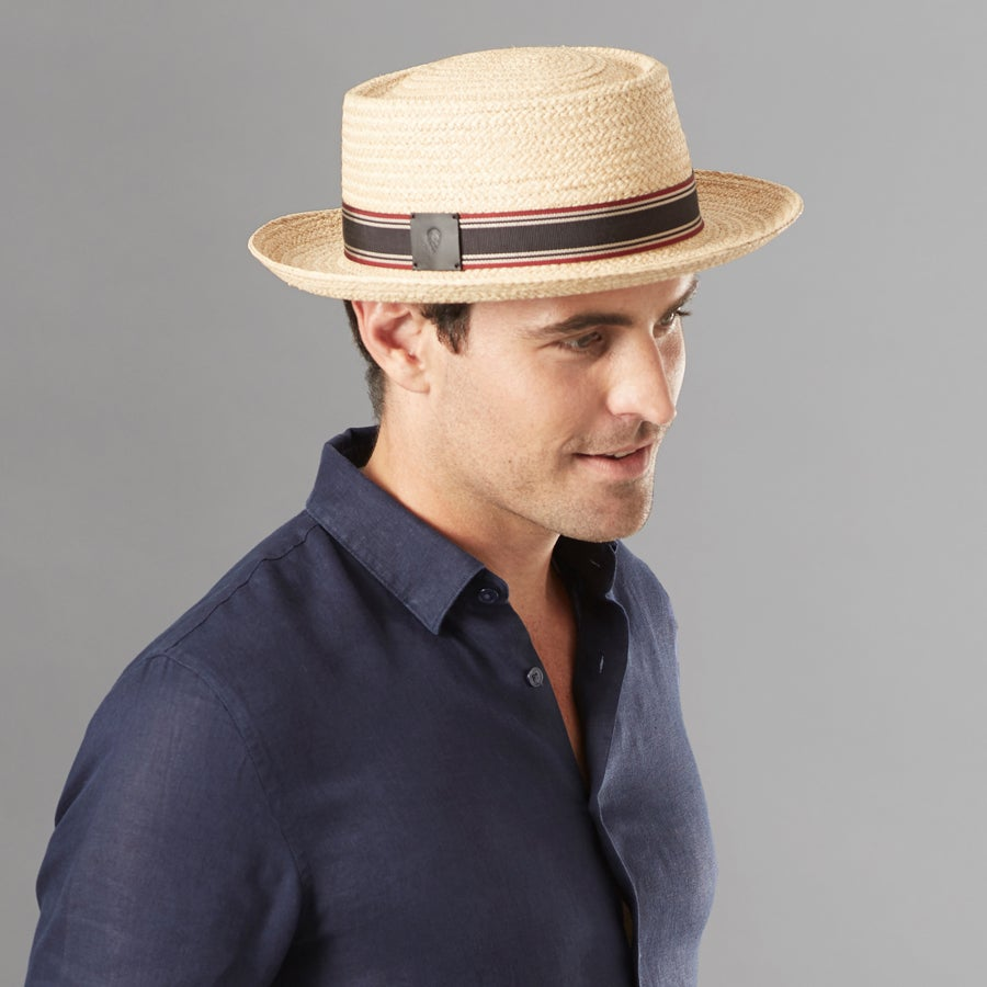 Men's Vintage Style Hats, Retro Hats Novo Pork Pie $165.00 AT vintagedancer.com
