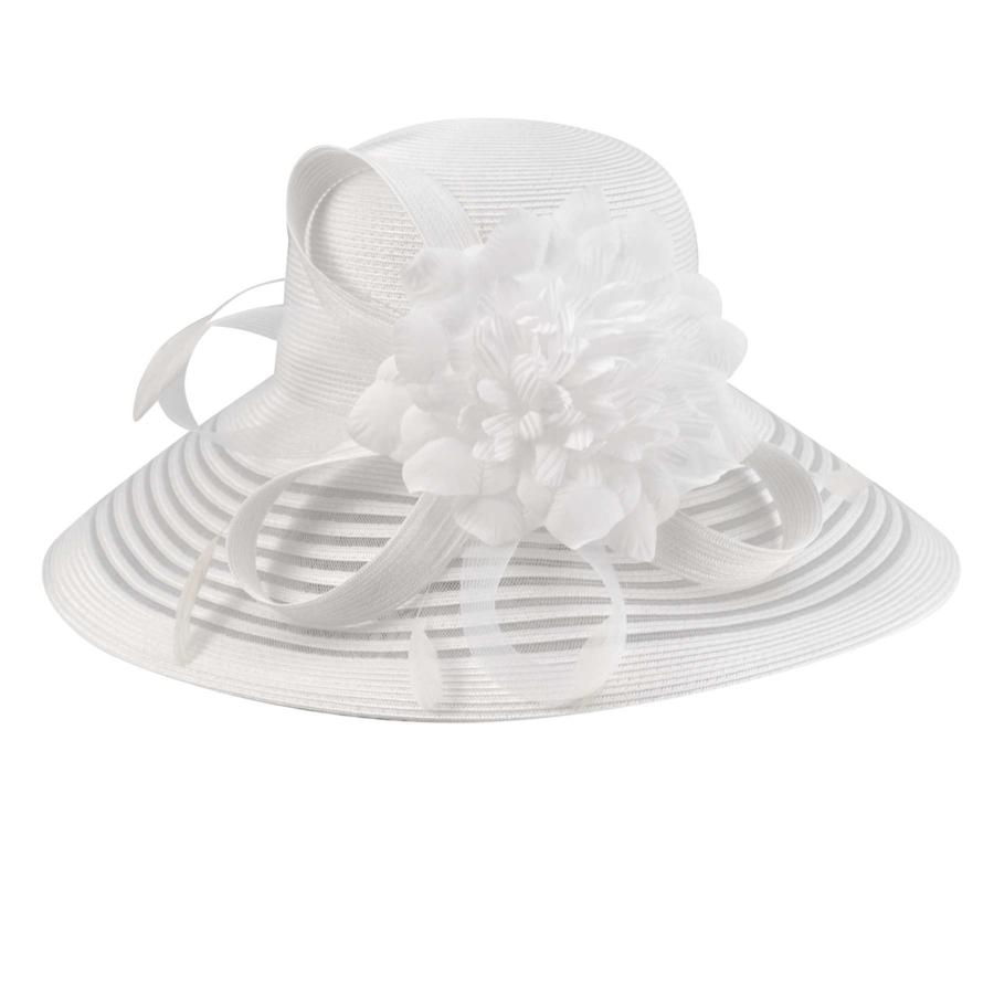 Betmar Lanna Hat in White