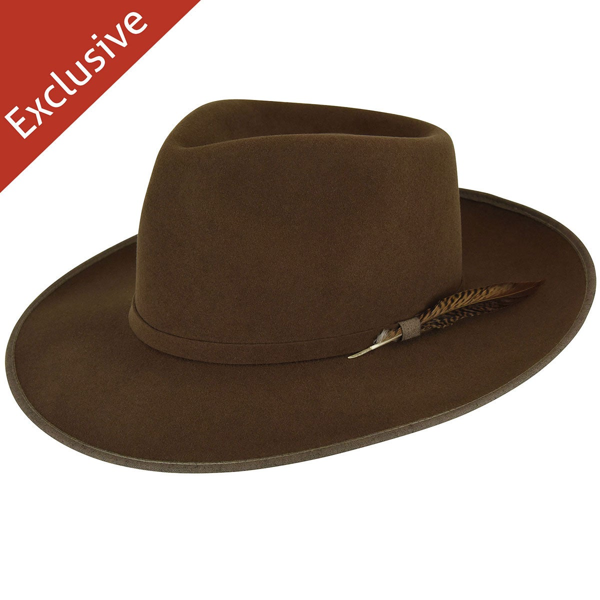 Phil A. Fedora - Exclusive - Chestnut/S