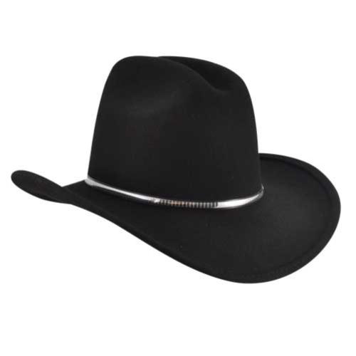 Eddy Bros. Eddy Bros. Rowdy Western Hat in Black