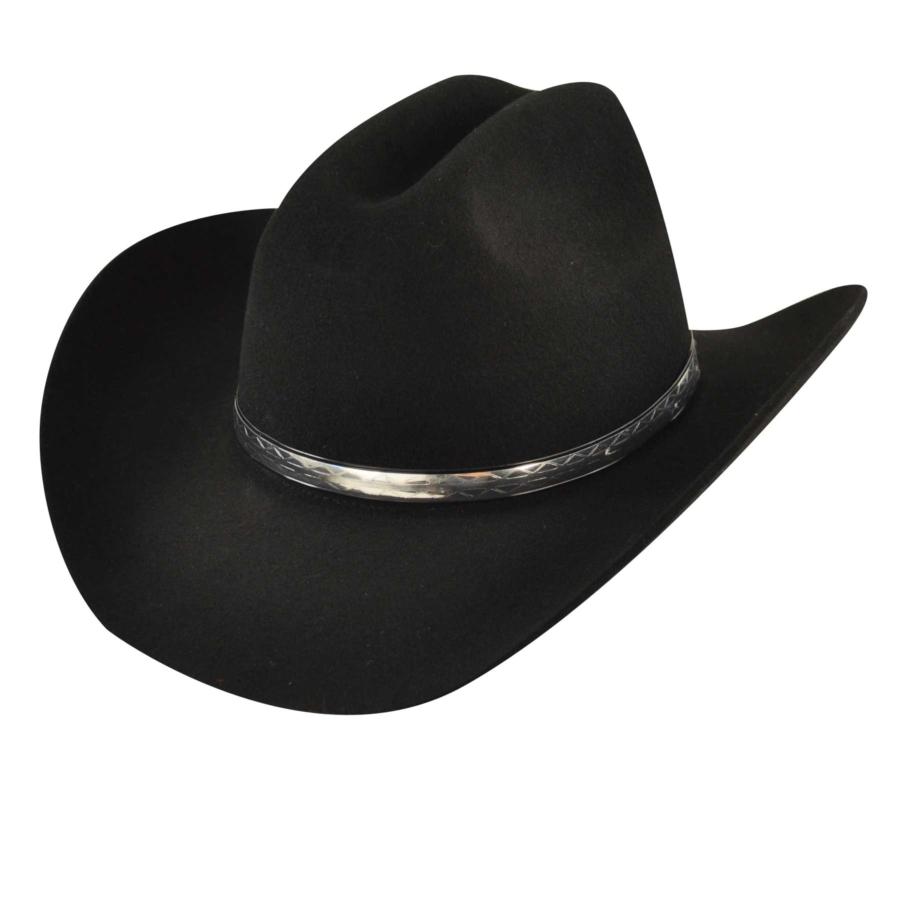 Eddy Bros. Eddy Bros. Silver Streak Western Hat in Black