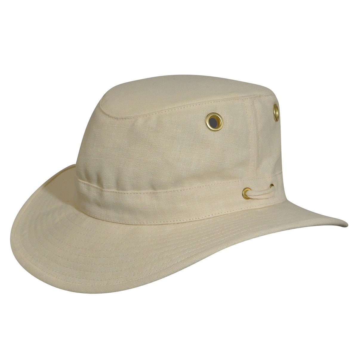 Tilley Medium Brim Hemp Outback Hat in Natural