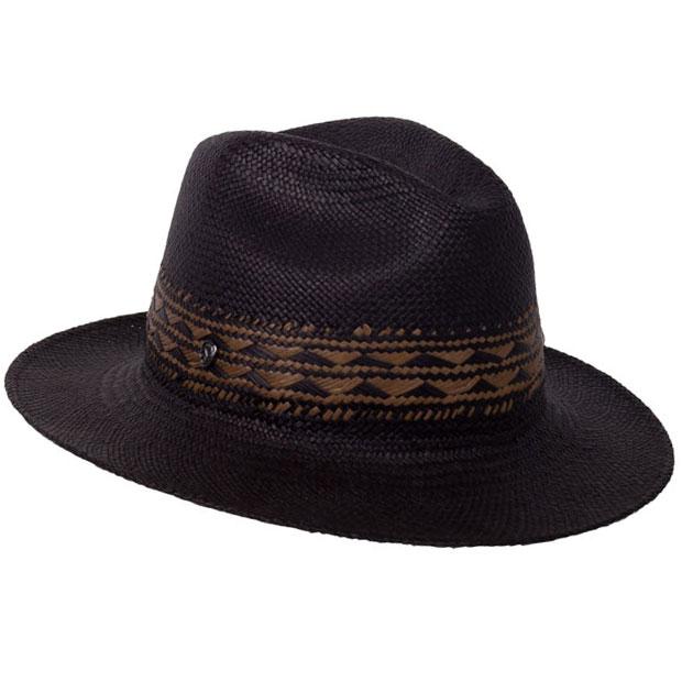 1960s – 70s Style Men's Hats Theron Panama Fedora $147.50 AT vintagedancer.com