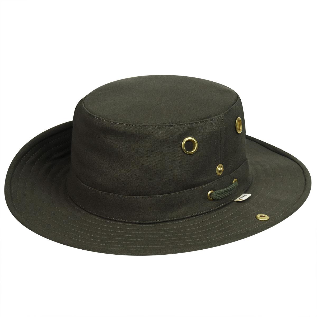 Tilley Cotton Duck Hat - Olive/7 1/8
