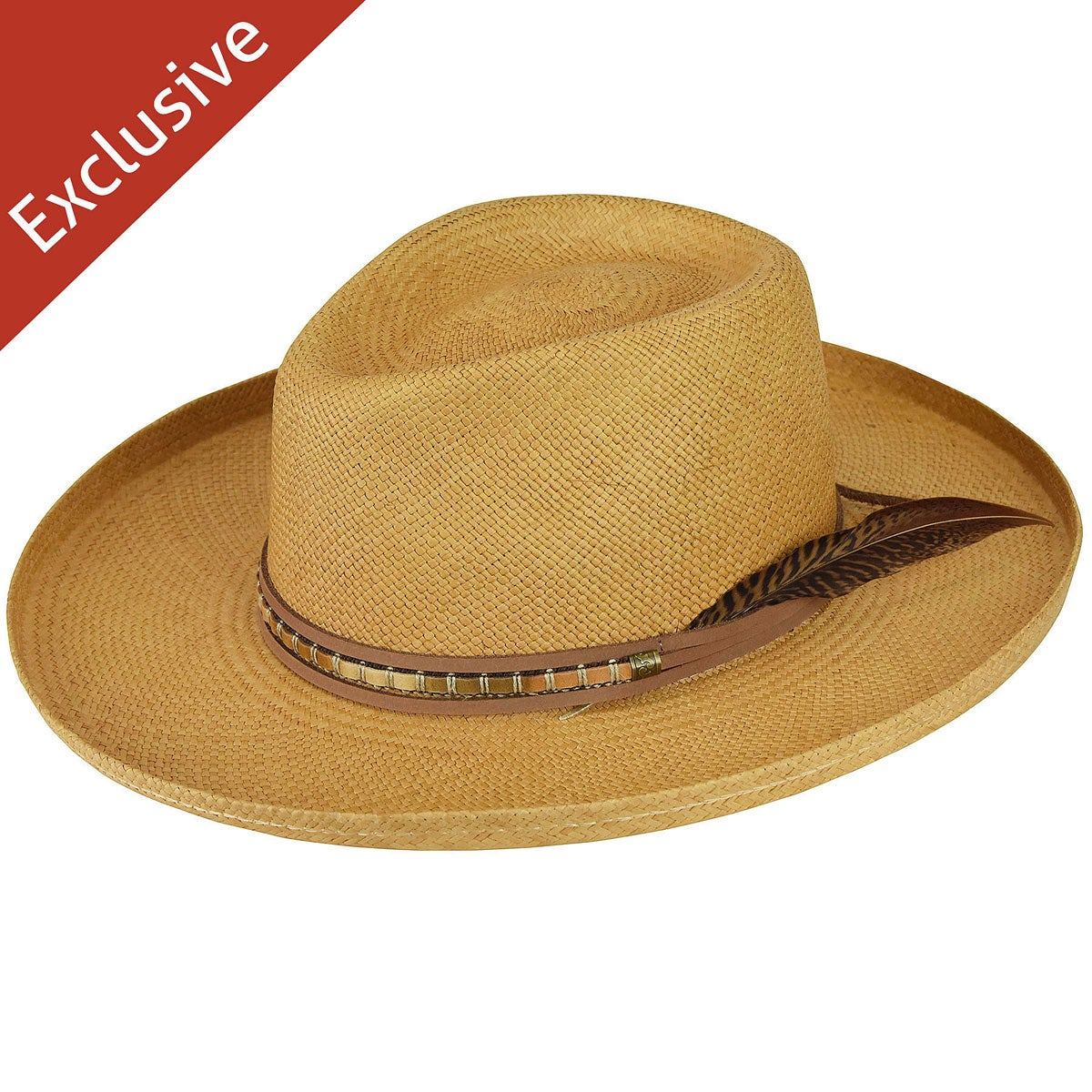 Bollman Hat Company Val C. Flat Brim - Exclusive in Goldenrod