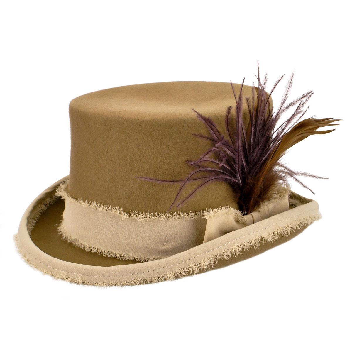 Renegade Renegade by Bailey Vivienne Top Hat in Tan