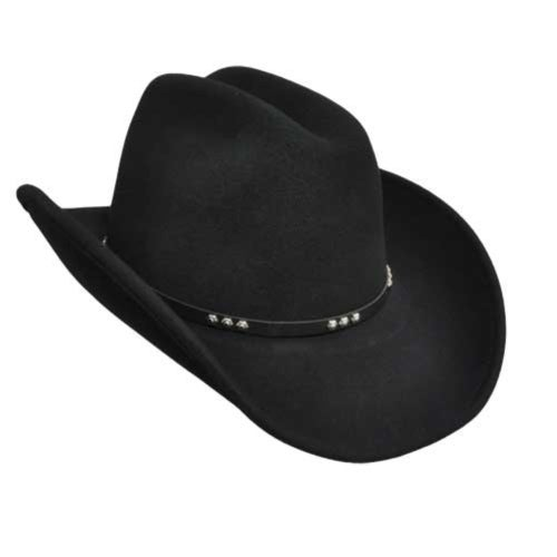Wind River Wind River by Bailey Three D Western Hat in Black