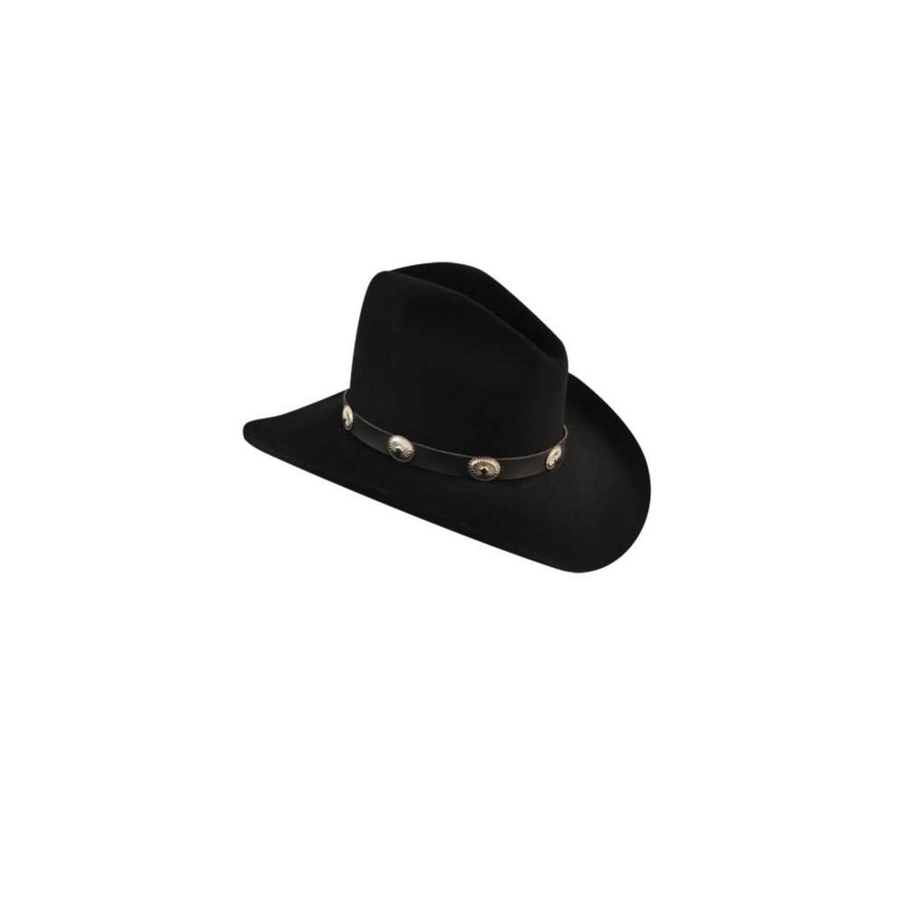 da5a4059c7b0b3 Bailey Cowboy Hat Mens Conchos Wool Gus Crease Tombstone W0602g 6 3 ...