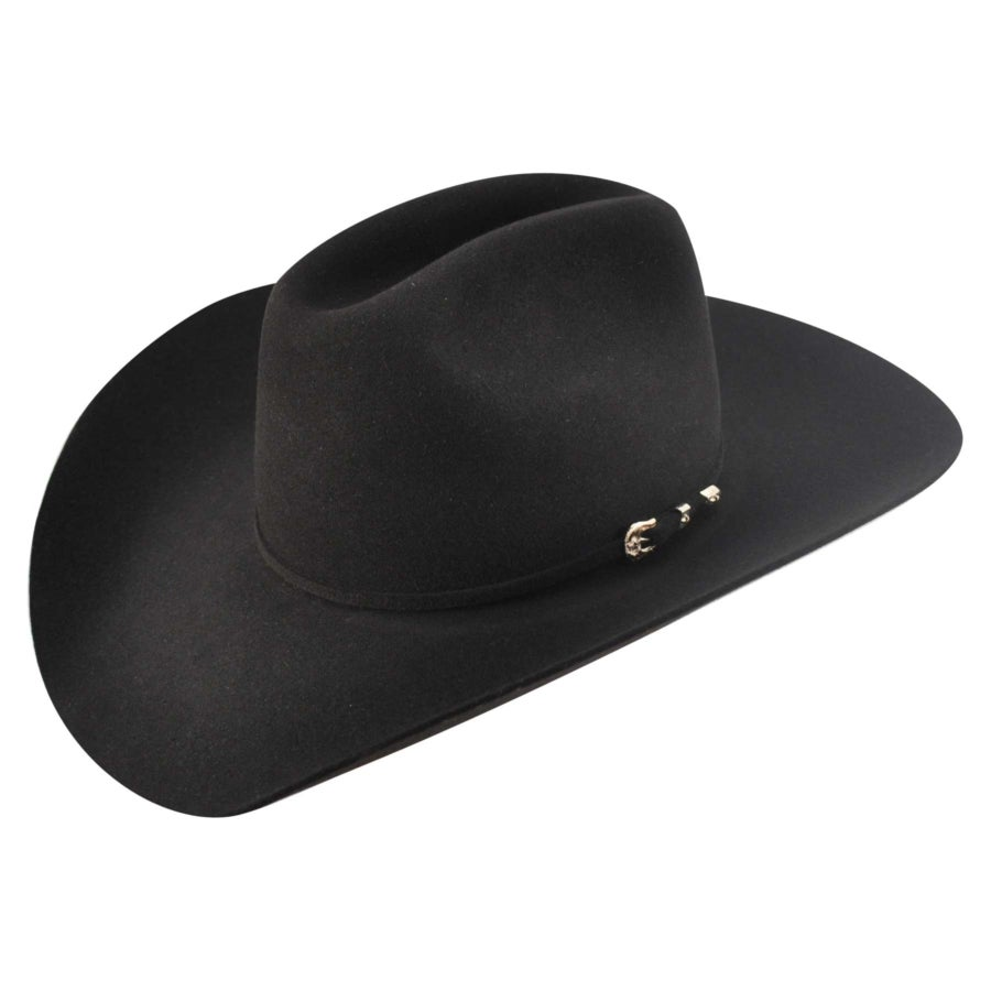 Steampunk Hats | Top Hats | Bowler Lucky 10X Western Hat $330.00 AT vintagedancer.com