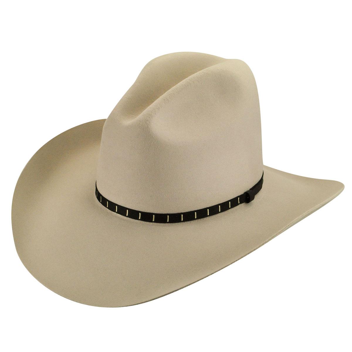 Elbridge 3X Western Hat - Silverbelly/7 1/2