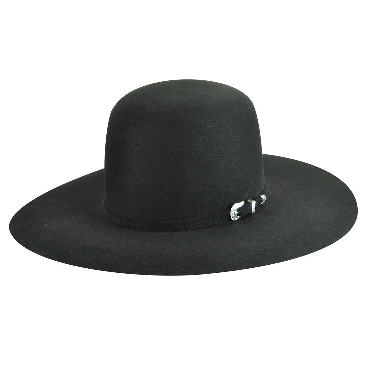 Bailey Western Courtright 7X Open Western Hat in Black
