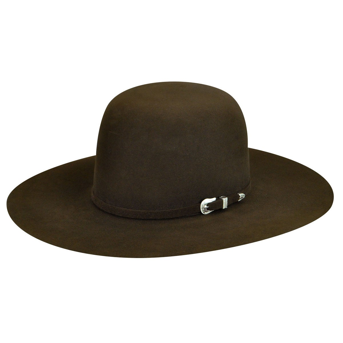 Bailey Western Courtright 7X Open Western Hat in Brown