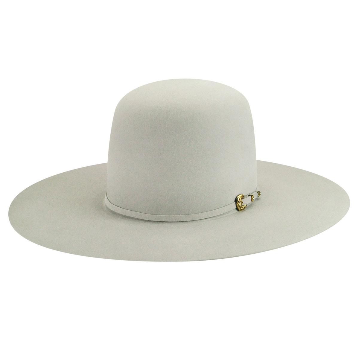Legacy 100X Open Western Hat - Silverbelly/6 3/4