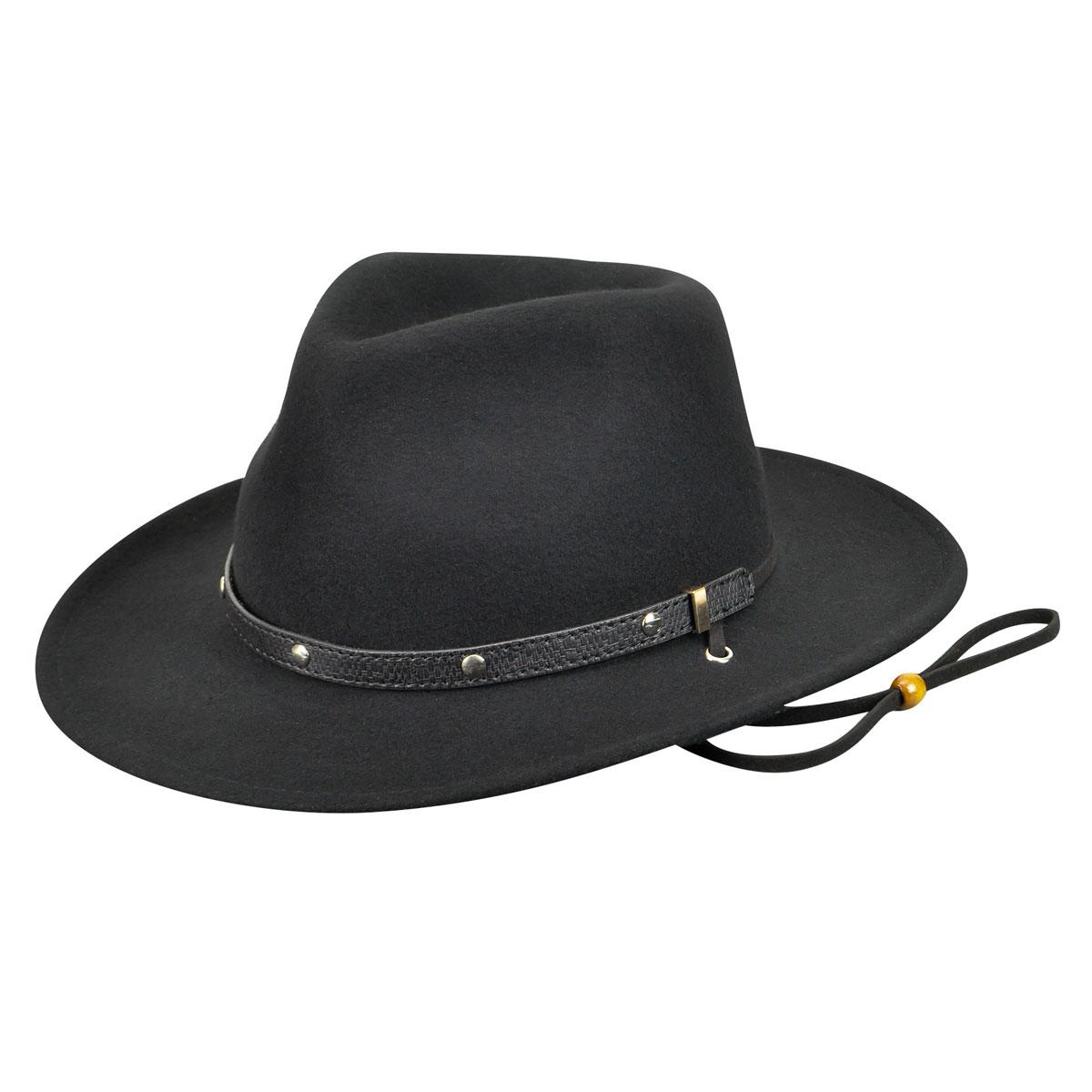 Eddy Bros. Calaboose Western Hat in Black