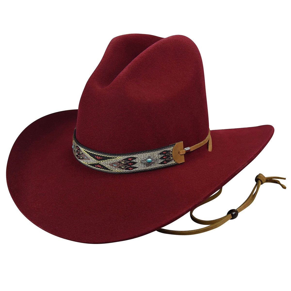 Vintage Western Wear Clothing, Outfit Ideas Renegade by BaileyHickstead Western Hat - Cranberry7 14 $110.00 AT vintagedancer.com